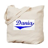 Dania Vintage (Blue) Tote Bag