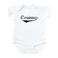 Corinne Vintage (Black) Infant Bodysuit