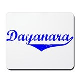 Dayanara Vintage (Blue) Mousepad