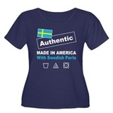 Made in America with Swedish Women's Plus Size Sco
