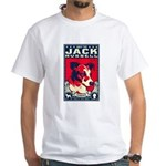 Obey the Jack Russell! One-sided T-shirt