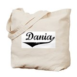 Dania Vintage (Black) Tote Bag
