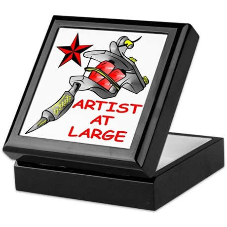Artist At Large Keepsake Box