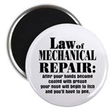Law of Mechanical Repair: Magnet