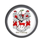Mc/Mac Carthy Coat of Arms Wall Clock