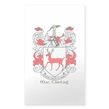 Mc/Mac Carthy Coat of Arms Rectangle Decal