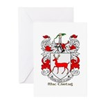 Mc/Mac Carthy Coat of Arms Greeting Cards (Pk of 1