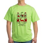 Mc/Mac Carthy Coat of Arms Green T-Shirt
