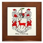 Mc/Mac Carthy Coat of Arms Framed Tile