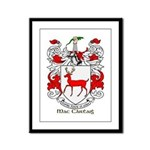 Mc/Mac Carthy Coat of Arms Framed Panel Print