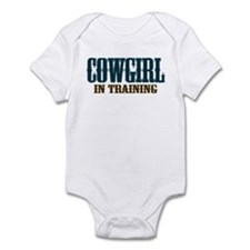 Cowgirl In Training Infant Bodysuit
