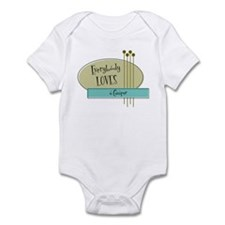 Everybody Loves a Camper Infant Bodysuit