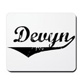 Devyn Vintage (Black) Mousepad