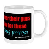 Guns into Plows Mug