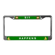 Sit Happens #2 License Plate Frame