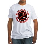 Redefeat Fascism Fred Thompson Fitted T-Shirt