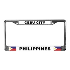 Cebu City Philippines License Plate Frame