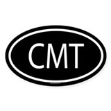 CMT Oval Decal