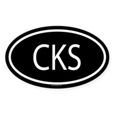 CKS Oval Decal