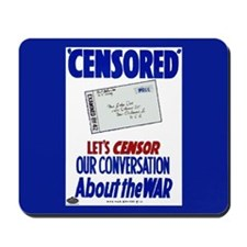 Censored! Mousepad