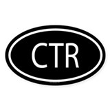 CTR Oval Decal