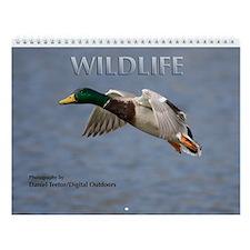Wild Animals Wall Calendar