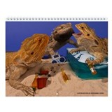 Cute Bearded dragon Wall Calendar
