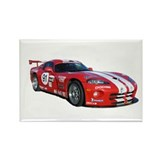 Dodge Viper Rectangle Magnet (100 pack)