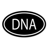 DNA Oval Decal