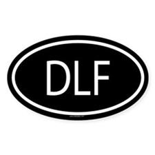 DLF Oval Decal