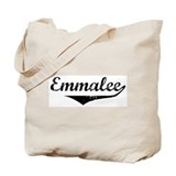 Emmalee Vintage (Black) Tote Bag