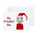 Ho Frickin' Ho Greeting Cards (Pk of 10)