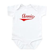 Annie Vintage (Red) Infant Bodysuit