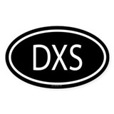 DXS Oval Decal