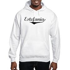 Estefania Vintage (Black) Hoodie