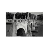 Pont Sant'Angelo, Rome Rectangle Magnet