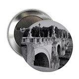 "Pont Sant'Angelo, Rome 2.25"" Button"