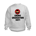 Chemo Graduation Day Kids Sweatshirt