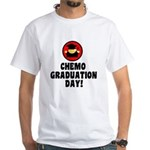 Chemo Graduation Day White T-Shirt