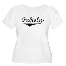 Fabiola Vintage (Black) T-Shirt