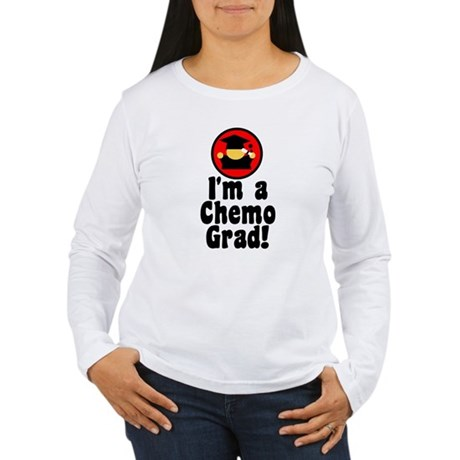 I'm a Chemo Grad Women's Long Sleeve T-Shirt