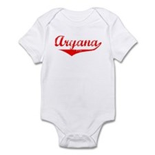 Aryana Vintage (Red) Infant Bodysuit