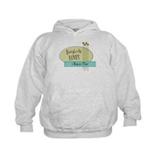 Everybody Loves a Bagpipe Player Hoodie