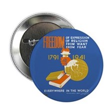 "Freedom 1941 2.25"" Button (10 pack)"