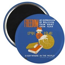 "Freedom 1941 2.25"" Magnet (10 pack)"