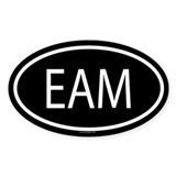 EAM Oval Decal
