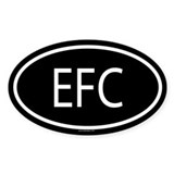 EFC Oval Decal