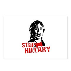 Stop Hillary / Anti-Hillary Postcards (Package of