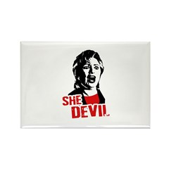 She Devil / Anti-Hillary Rectangle Magnet (100 pac