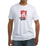 She Devil Fitted T-Shirt
